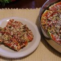 Baked Zucchini with Mint - Kolokythakia me Dyosmo
