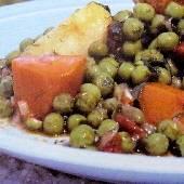 Greek Vegetable Stew with Peas