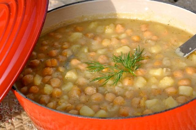 Chickpea Stew - Revithatha (Revithada) - Sifnos