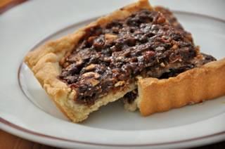 Chocolate Baklava Tart