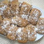 Greek Spice Cookies with Nut & Sugar Topping