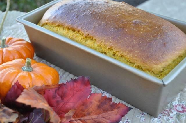 Pumpkin Bread - Psomi me Kolokitha