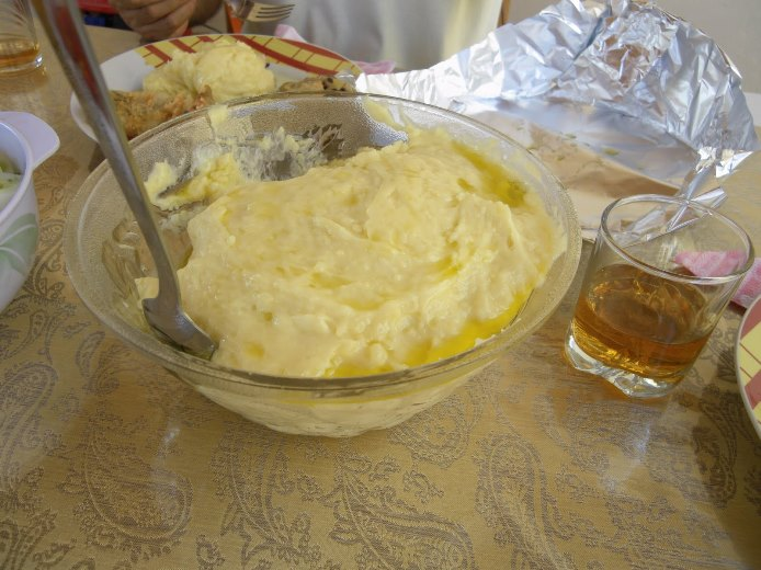Garlic-and-Potato Sauce from Cephalonia