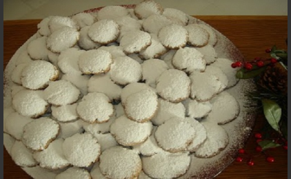 Shortbread Cookies from Levithi