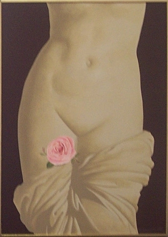 Venus and a rose