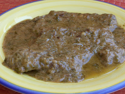 Pan-Fried Veal with a Tangy Vinegar Sauce from Corfu