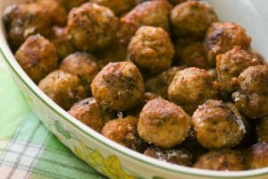 Stuffed Little Meatballs from Corfu - POLPETES APO TIN KERKYRA